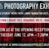 LES Student Photography Exhibit 6/12 – 8/24
